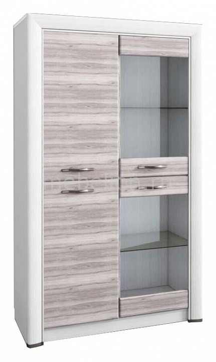 Шкаф-витрина Анрекс Olivia 2V2D цена и фото