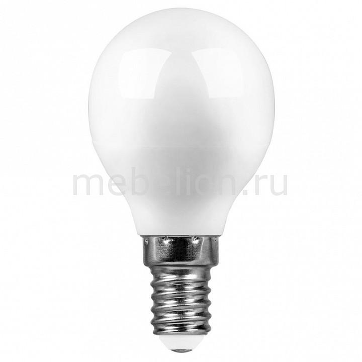 Лампа светодиодная [поставляется по 10 штук] Feron Лампа светодиодная E14 220В 7Вт 2700 K SBG4507 55034 [поставляется по 10 штук] лампа светодиодная gauss none gu5 3 7вт 220в 2700 k 101505107