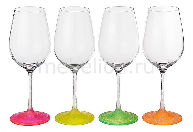 Набор для вина АРТИ-М из 4 шт. Neon frozen 674-333