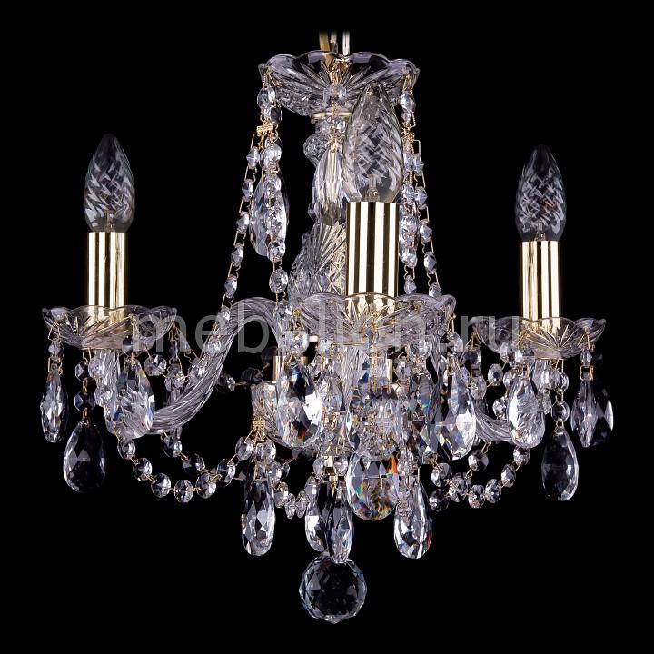 Подвесная люстра Bohemia Ivele Crystal 1406/3/141/G 1406