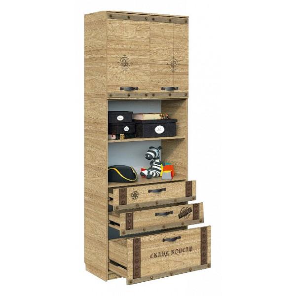 Шкаф комбинированный Сканд-Мебель