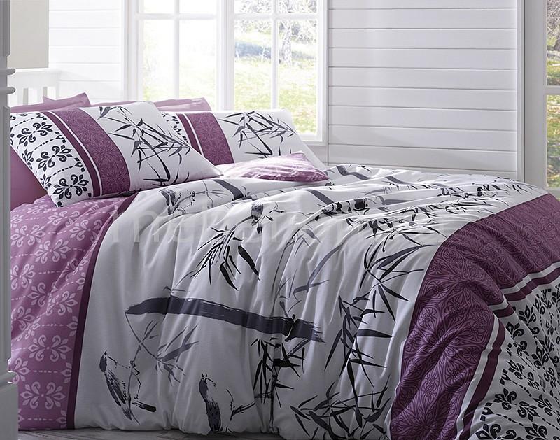 Комплект полутораспальный Тет-а-Тет Бамбук Лиловый сапоги uno due tre klingel цвет лиловый klingel цвет лиловый