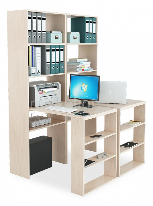 Стол компьютерный МФ Мастер Рикс-4545 угловой компьютерный стол с надстройкой и полками мф мастер рикс 4 рикс 5