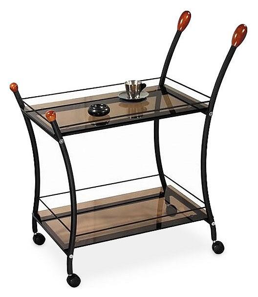 Стол сервировочный Поло черный
