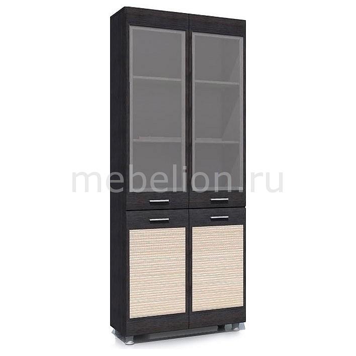 Шкаф-витрина Капри НМ 014.04 РС