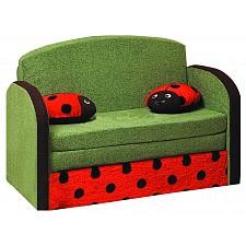 Диван-кровать Мася-9 Божья коровка 8171127 зеленый/красный