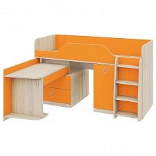 Кровать Мебель Трия -чердак Аватар СМ-201.02.001 каттхилт/манго