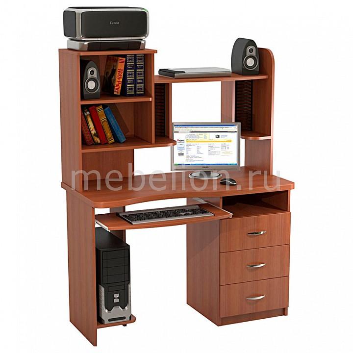 ТД Ная Стол компьютерный Ласточка КС-10М+КН-7 вишня оксфорд