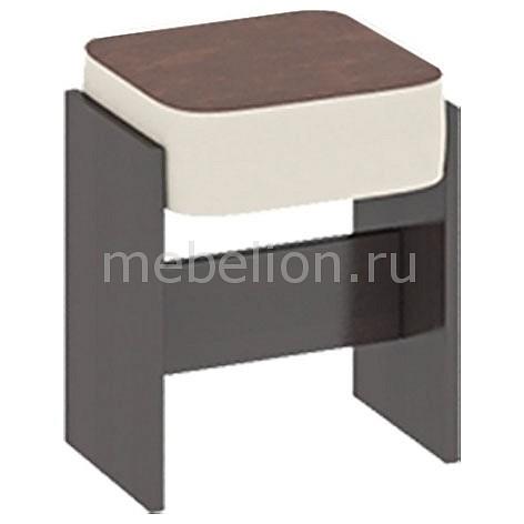 Табурет Кантри Т1 венге/темно-коричневый