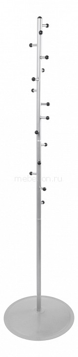 Вешалка напольная Мебелик Вешалка-стойка Пико 15 металлик вешалка напольная мебелик вешалка стойка м 1 металлик