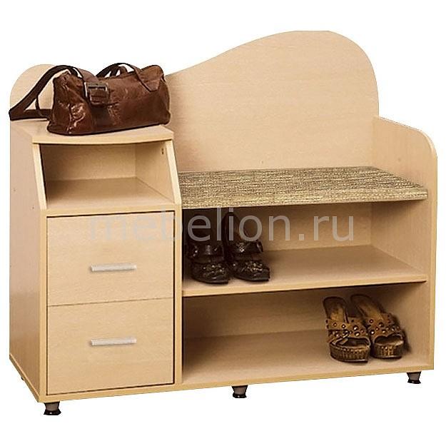 Купить Тумба для обуви КН.БН.11.11-02 дуб линдберг, Олимп-мебель, Россия