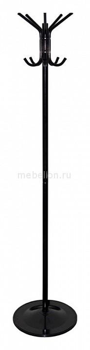 Вешалка-стойка Бюрократ CR-001 черная/металлик