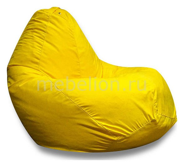 Кресло-мешок Желтая замша II  магазин диваны и кровати отзывы
