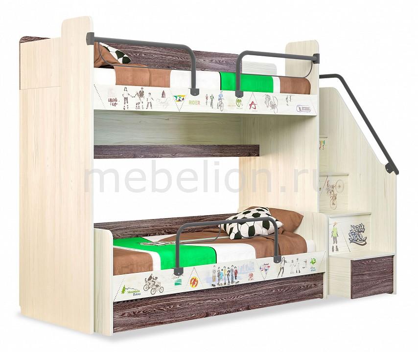 Кровать двухъярусная Сканд-Мебель Актив детская мебель