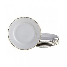 Набор из 6 тарелок плоских Офелия 662 655-099