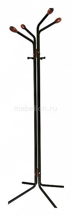 Вешалка напольная Мебелик Вешалка-стойка Галилео 152 черный