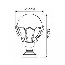 Наземный низкий светильник Feron 11556 Верона