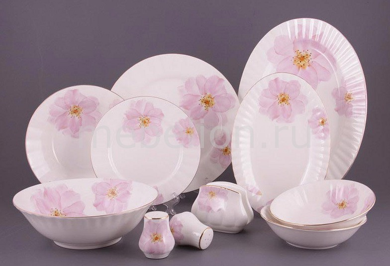 Столовый сервиз Porcelain manufacturing factory Грейс 264-154 менажница porcelain manufacturing factory 388 097