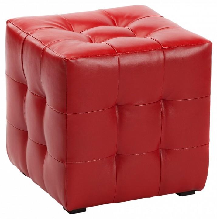 Пуф ПФ-1 красный