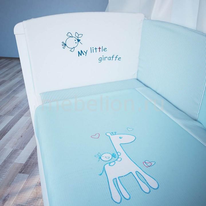 Комплект с одеялом детский Фея Жирафик комплект galtex медвежата 147x112 150x100 40x60 бязь mix 1477446
