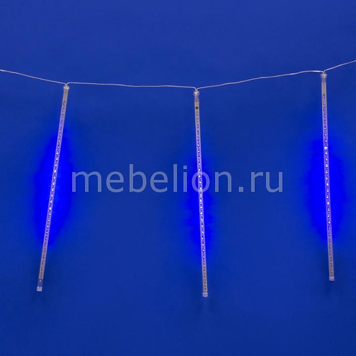 Занавес световой [2.4x0.3 м] Uniel Занавес световой (2.4x0.3 м) Meteor 11119 цена