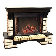 Электрокамин напольный Real Flame (143х49.1х106 см) Country 00010011280