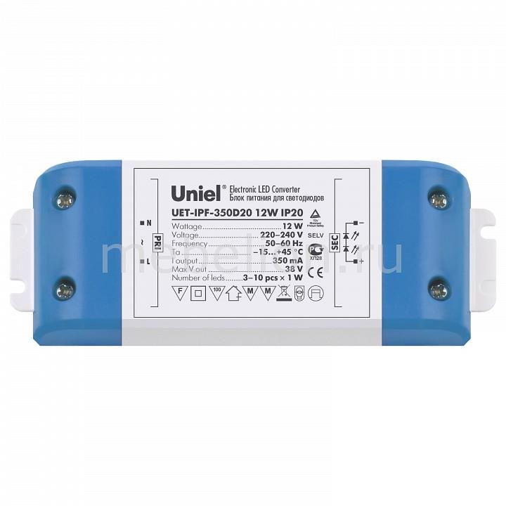 Фото - Блок питания Uniel UET-IPF-350D20 05834 блок питания для светодиодов uniel 10590 150w 6 25ма ip67 uet vaj 150b67