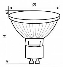 Лампа галогеновая Feron 02307 HB10