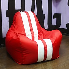 Кресло-мешок Спорт красное