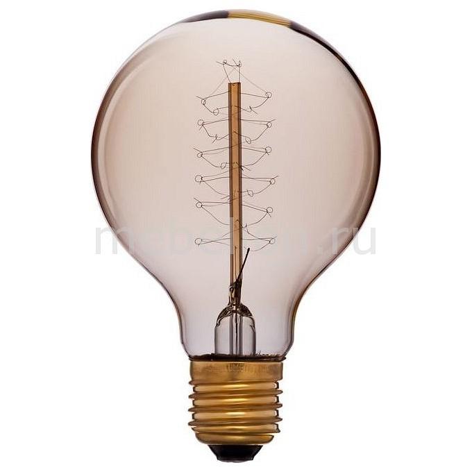 Лампа накаливания Sun Lumen G80 E27 220В 40Вт белый теплыйK 051-989а