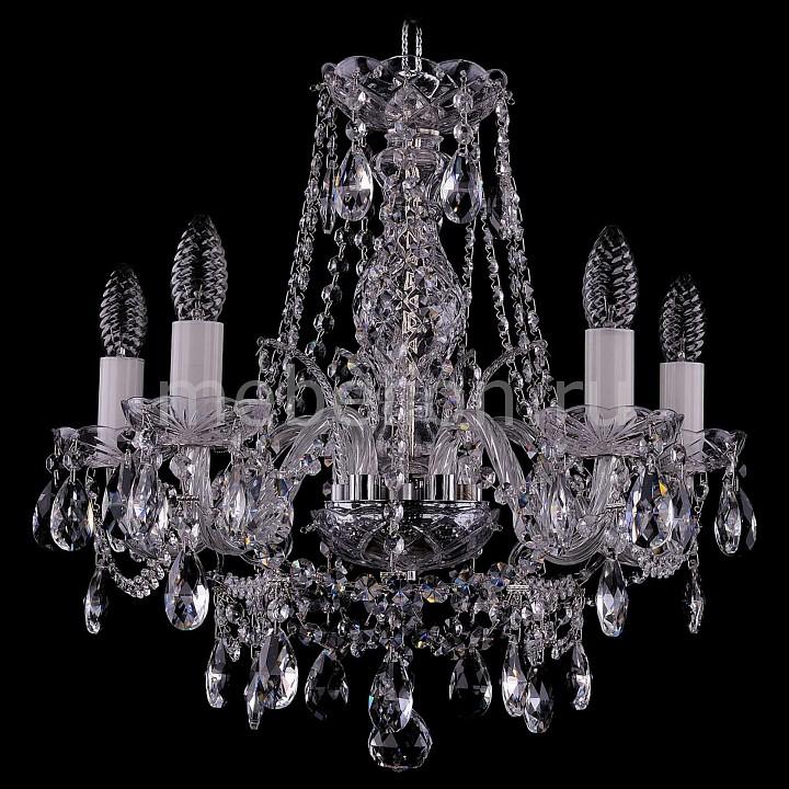 Подвесная люстра Bohemia Ivele Crystal 1411/5/160/Ni 1411