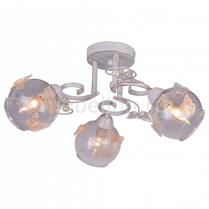 все цены на  Потолочная люстра Arte Lamp Alessandra A5004PL-3WG  онлайн