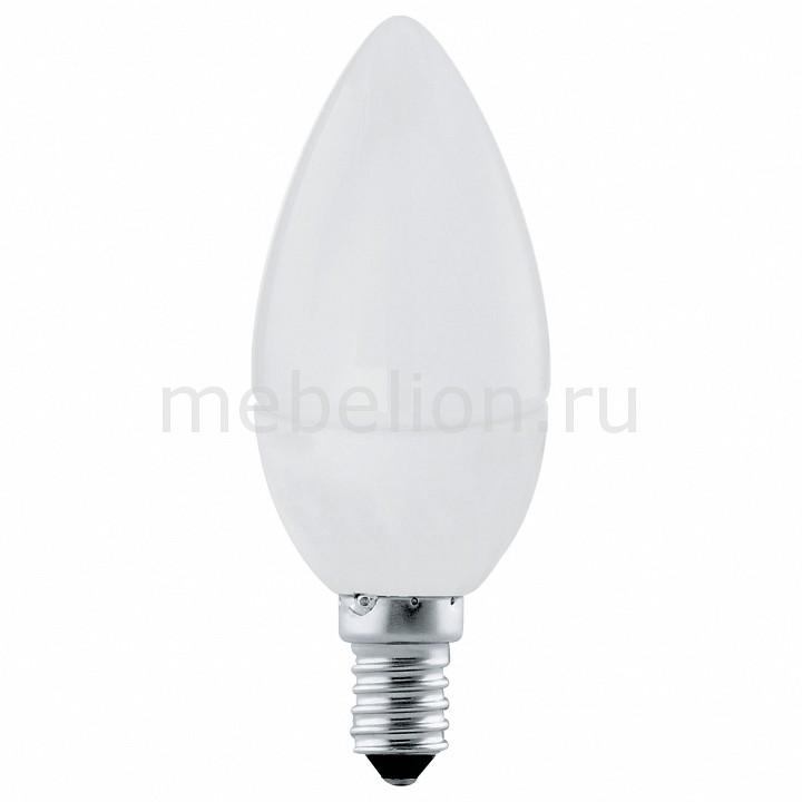 Лампа светодиодная [поставляется по 10 штук] Eglo Лампа светодиодная С37 E14 4Вт 3000K 11421 [поставляется по 10 штук] лампа светодиодная 5 4вт e14 osram clb40 свеча матовая теп