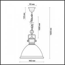 Подвесной светильник Odeon Light 2900/1A Talva