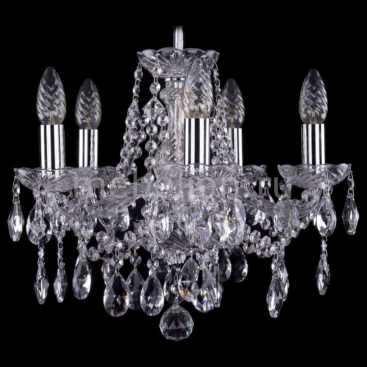 Подвесная люстра Bohemia Ivele Crystal 1413/5/141/Ni 1413