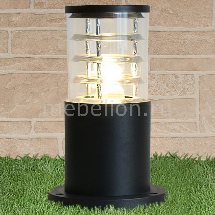 Наземный низкий светильник Elektrostandard 1508 TECHNO black черный декоративная решетка techno для конвектора 250х1800 рра 250 1800 с
