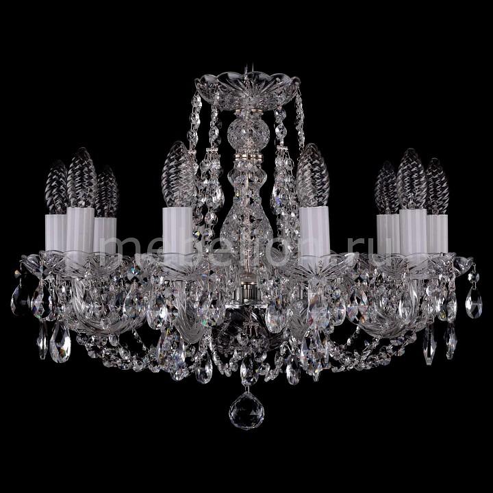 Подвесная люстра Bohemia Ivele Crystal 1406/10/160/Ni 1406