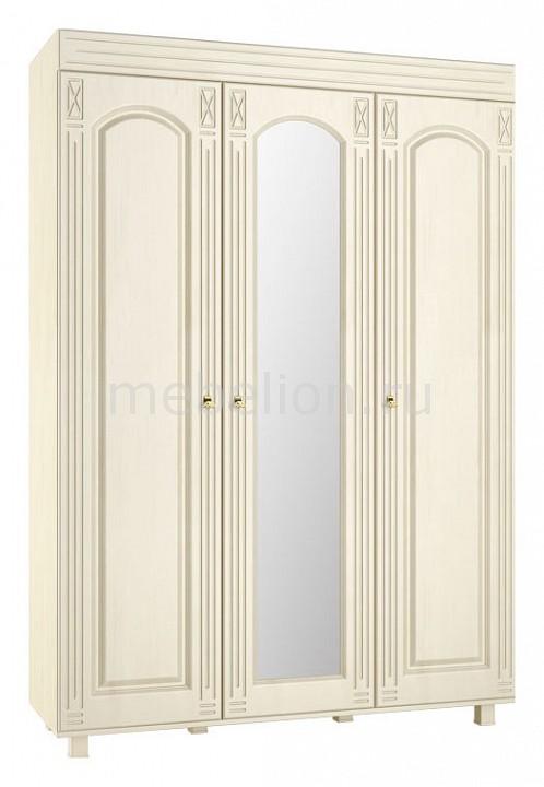 Шкаф платяной Компасс-мебель Элизабет ЭМ-18 шкаф витрина компасс мебель элизабет эм 4