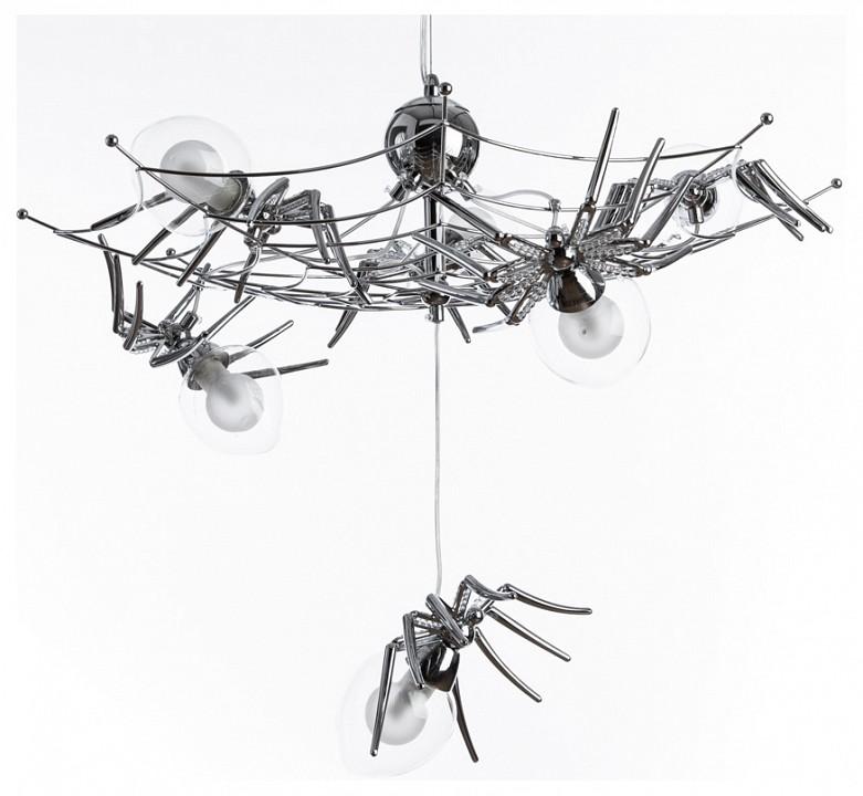 Подвесная люстра Divinare Spiders invasion 1308/02 SP-6 divinare подвесной светильник divinare spiders invasion 1308 02 sp 1