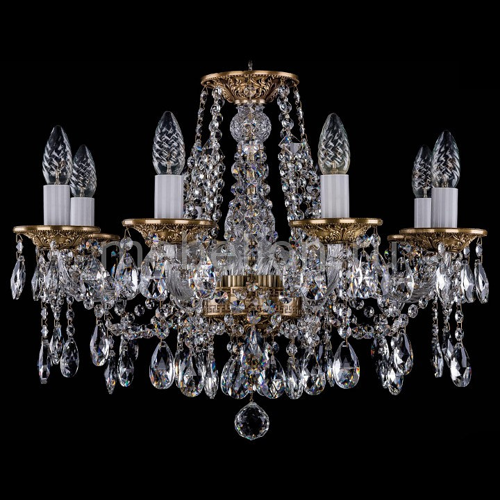 Подвесная люстра Bohemia Ivele Crystal 1613/8/200/FP 1613