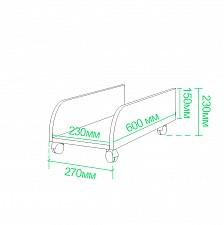 Подставка под системный блок Живой дизайн СП-30П