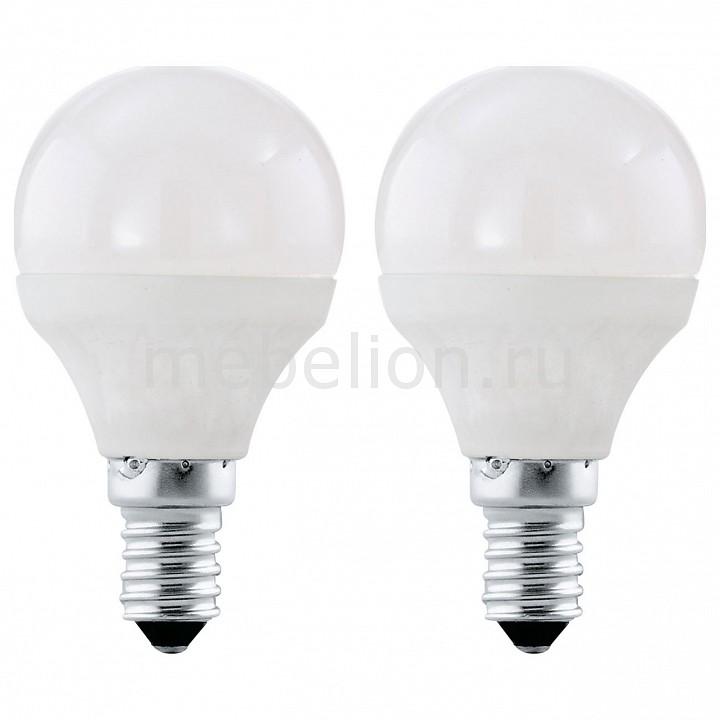 Комплект из 2 ламп светодиодных [поставляется по 10 штук] Eglo Комплект из 2 ламп светодиодных Valuepack E27 4000K 220-240В 4Вт 10776 [поставляется по 10 штук] комплект из 2 ламп светодиодных eglo led лампы g4 2700k 220 240в 1 2вт 11551