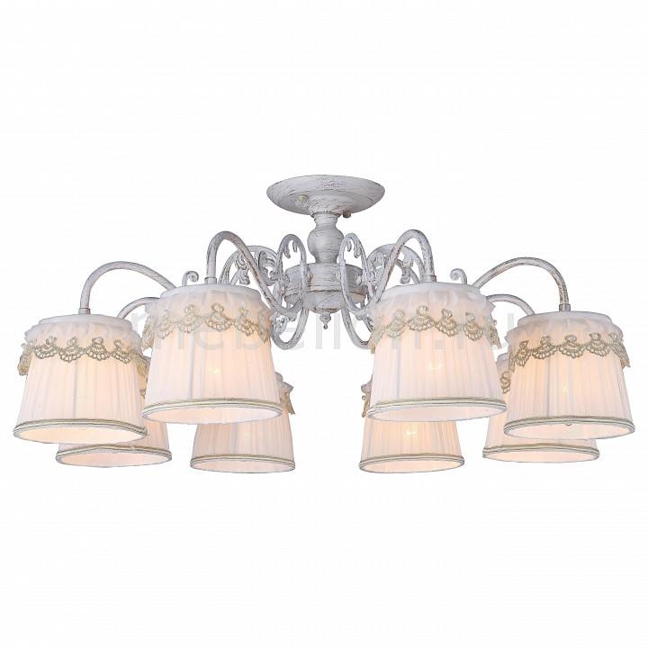 Люстра на штанге Arte Lamp Merletto A5709PL-8WG arte lamp a9395lm 8wg