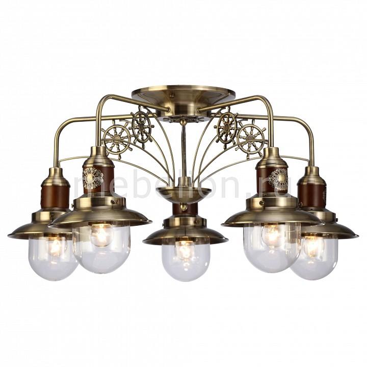 Купить Потолочная люстра Sailor A4524PL-5AB, Arte Lamp, Италия