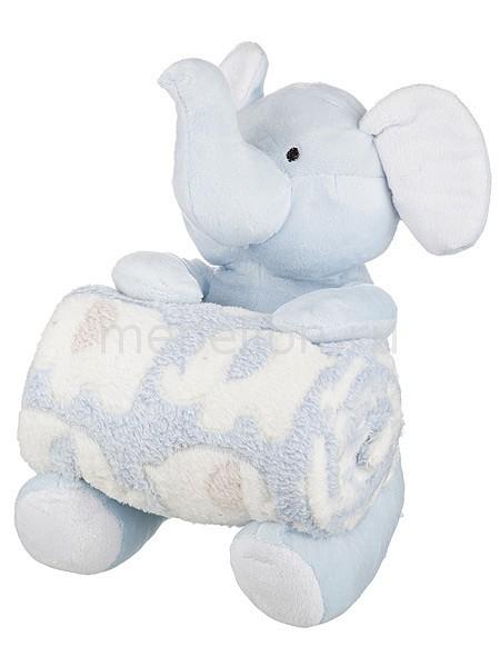 Плед детский АРТИ-М (75х100 см) Голубой слоник статуэтка арти м 37 см дама 50 029