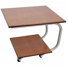 Стол журнальный Мебелик Дуэт 11М среднекоричневый