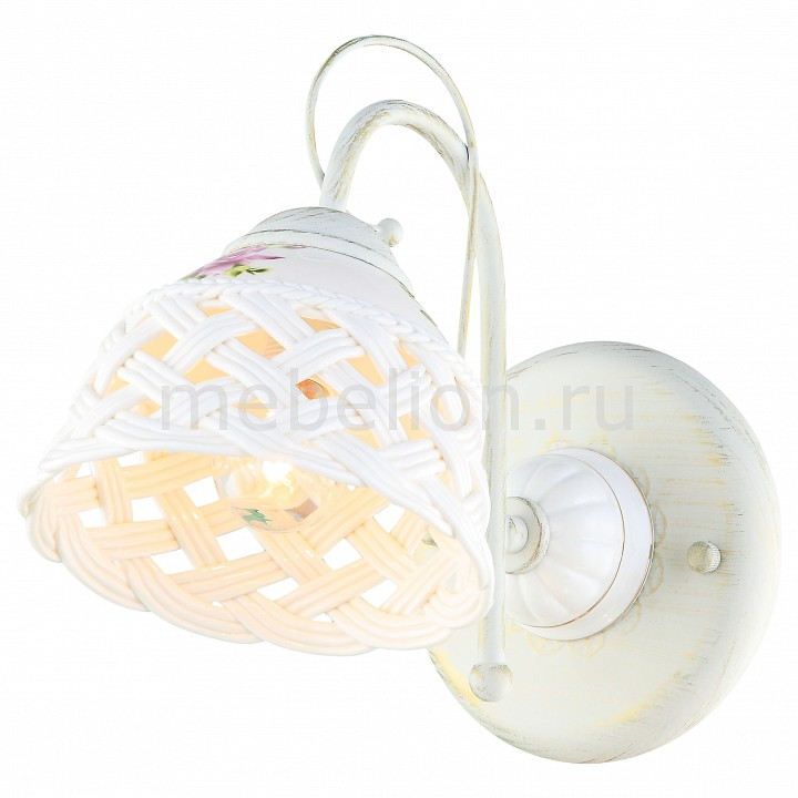 Бра Arte Lamp A6616AP-1WG Wicker