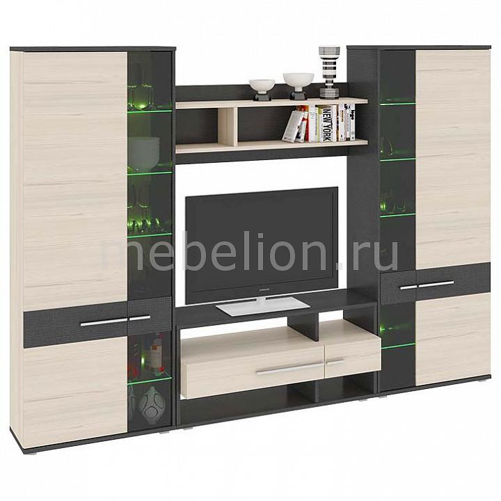 Стенка для гостиной Сити ТД-192.01 каттхилт/тексит mebelion.ru 26990.000
