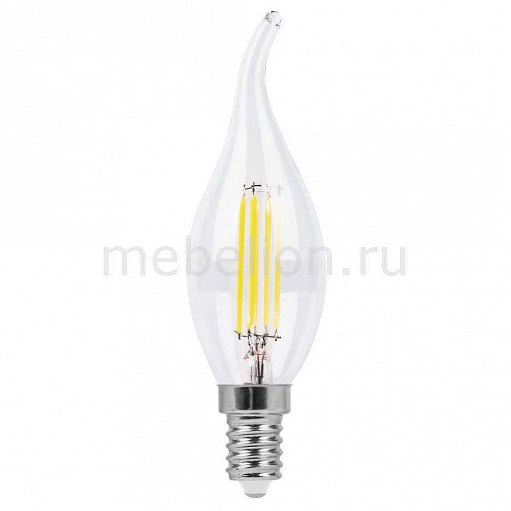 Лампа светодиодная [поставляется по 10 штук] Feron Лампа светодиодная E14 220В 5Вт 2700 K LB-69 25653 [поставляется по 10 штук] лампа светодиодная feron 5вт 230в e14 4000k свеча диммируемая