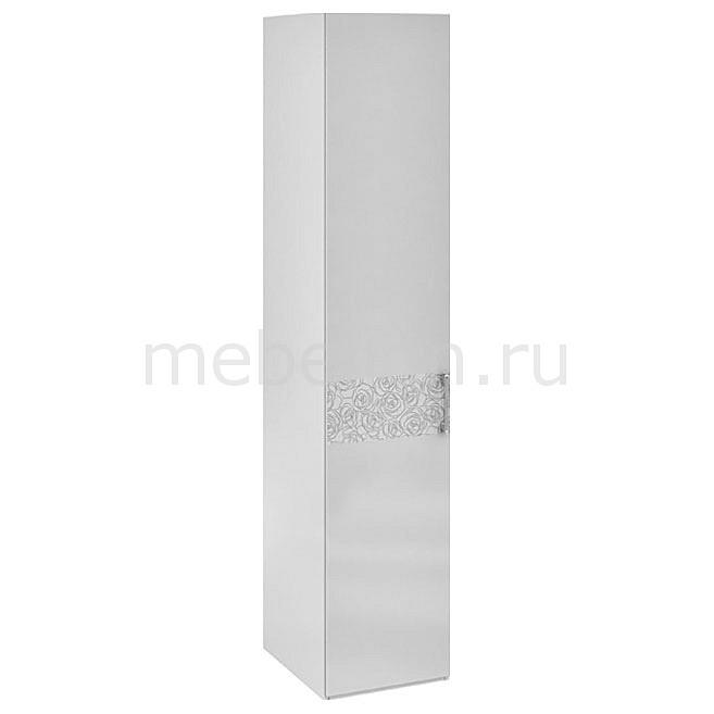 Купить Шкаф для белья Амели СМ-193.07.001 L белый глянец, Мебель Трия, Россия